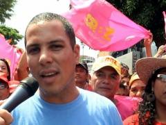 Bolivar and Zamora Revolutionary Current National Coordinator Kevin Rangel calls for Chavismo to unite behind the presidential candidacy of Nicolas Maduro